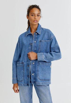 Denim jacket - royal blue