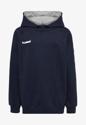 HMLGO - Hoodie - dark blue