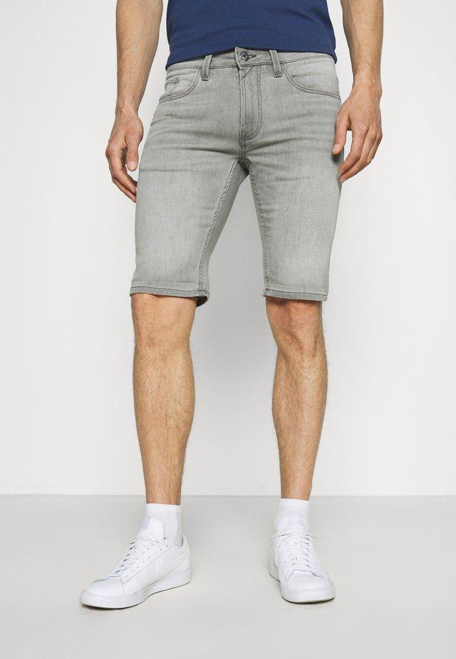 COMMERCIALKEN - Jeansshort - grey