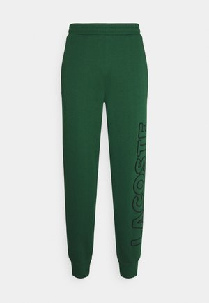 Tracksuit bottoms - green/black