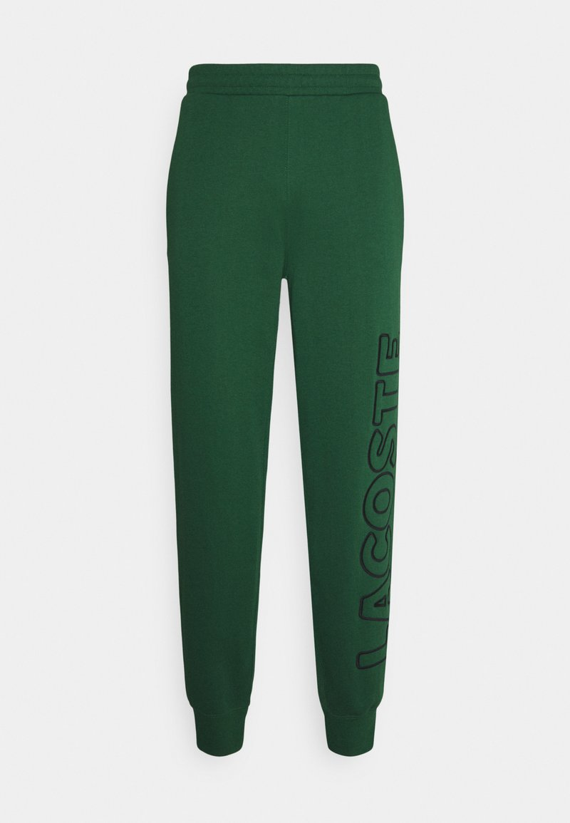 Lacoste LIVE - Tracksuit bottoms - green/black