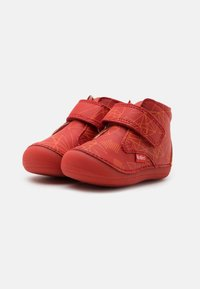 Kickers - SABIO UNISEX - Touch-strap shoes - rouge galactic - 1