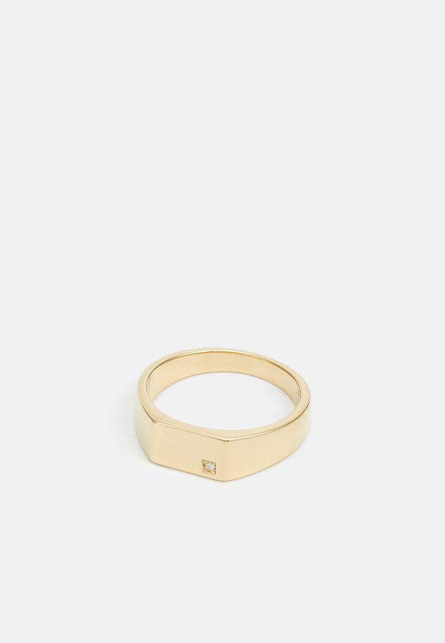 GEO SIGNET - Ring - gold-coloured