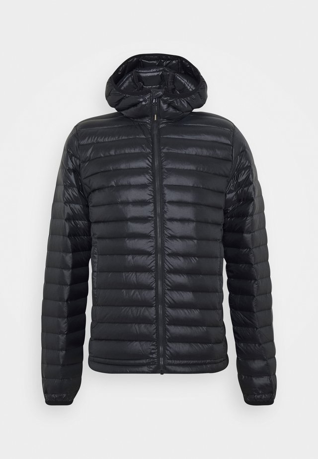 BRUCE HOODED - Down jacket - deep ink