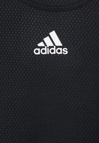 adidas Performance - TEE H.RDY - Camiseta estampada - black - 4