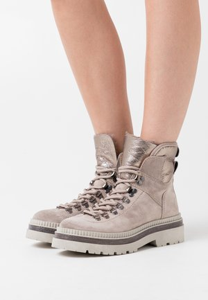 Lace-up ankle boots - polar