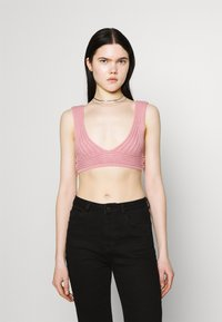 Missguided - Top - rose - 0