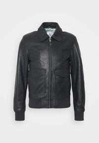Serge Pariente - STYLE - Leather jacket - navy - 0