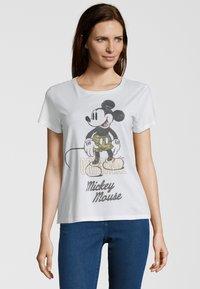 Princess goes Hollywood - MICKEY ORIGINAL - T-shirt print - clear whit - 0