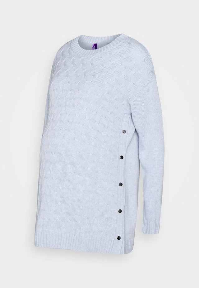 GRETE - Pullover - blue