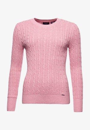 CROYDE - Jumper - nappa pink marl