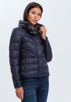 Winter jacket - granatowy