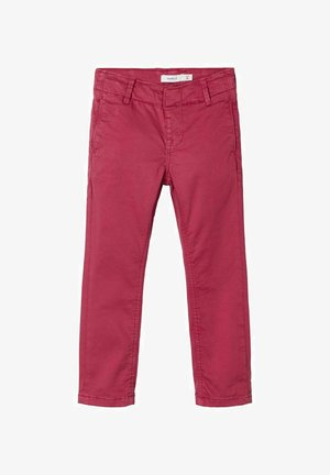 Chinos - earth red