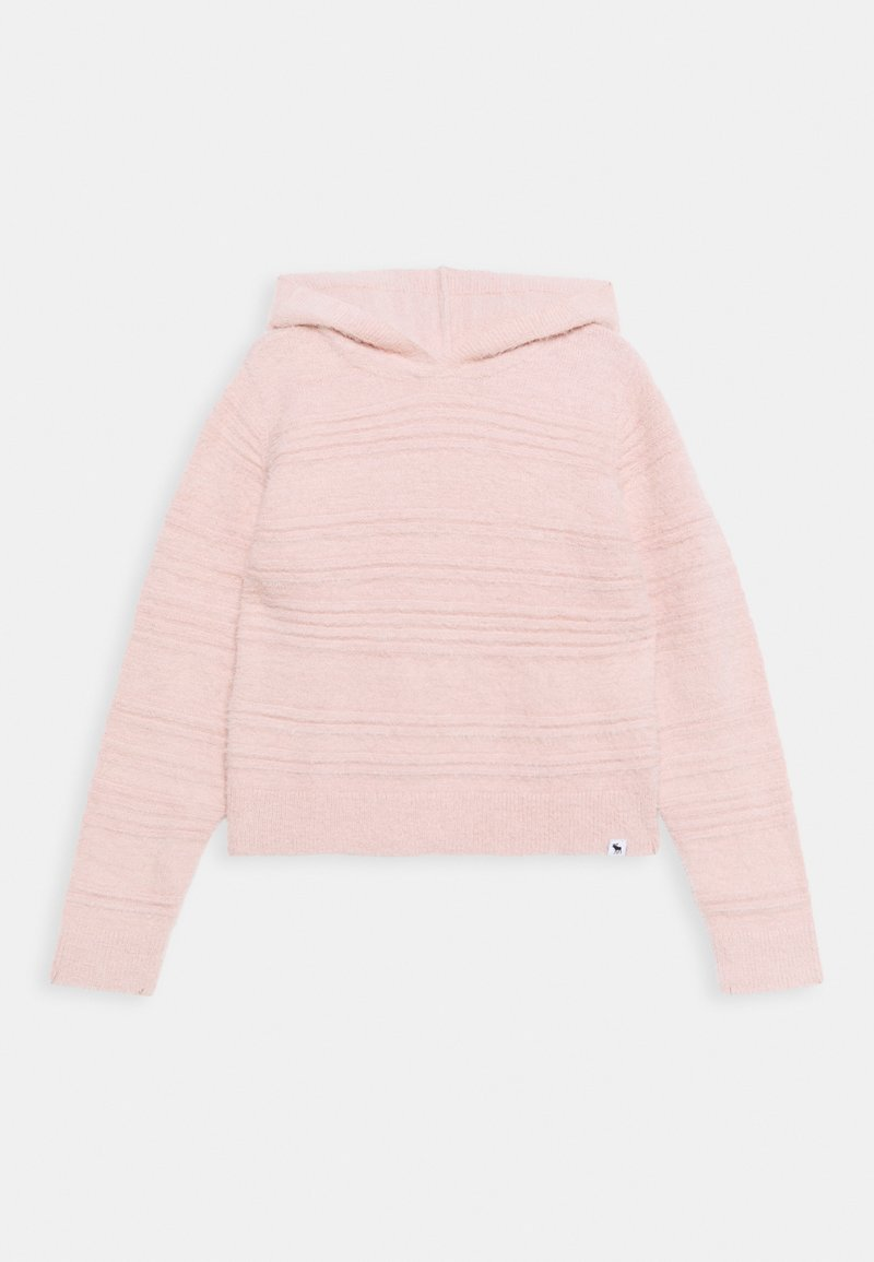 Abercrombie & Fitch - HOODIE - Jumper - pink