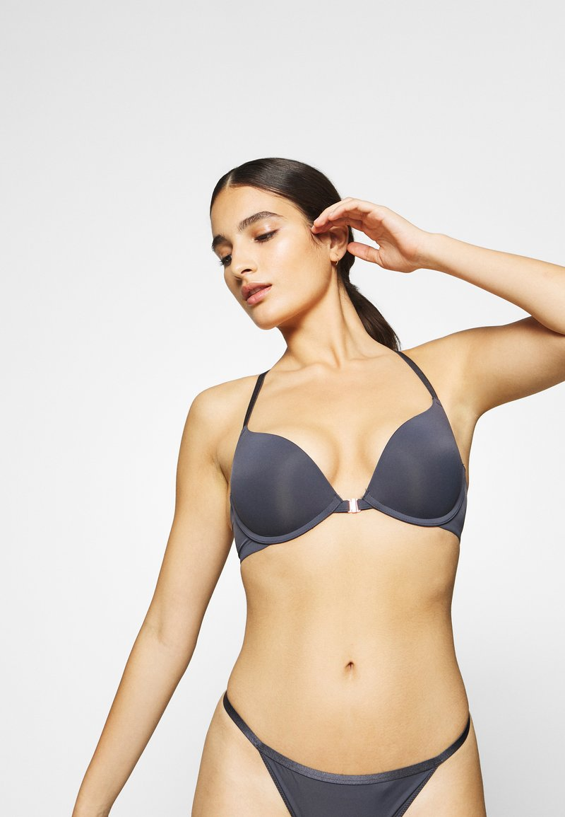 DORINA - FILI - Push-up bra - grey