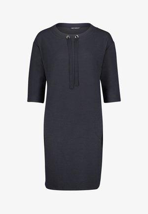 Jersey dress - donkerblauw