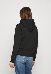 Calvin Klein Jeans - SHRUNKEN INSTITUTIONAL - Hoodie - black - 2