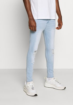 LIGHT RIPPED  - Jeans Skinny Fit - blue