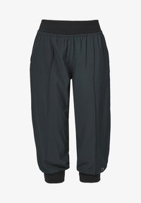 s.Oliver active - 3/4 sports trousers - black - 3