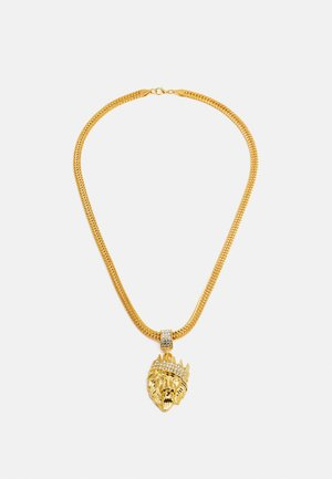 LION NECKLACE - Smykke - gold-coloured