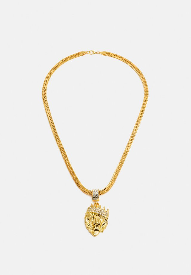 LION NECKLACE - Kaulakoru - gold-coloured