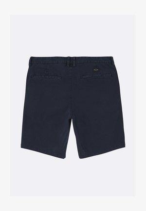 NEW ORDER WAVE WASH - Shorts - navy