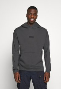 Abercrombie & Fitch - PATCH PERFECT - Hoodie - asphalt - 0