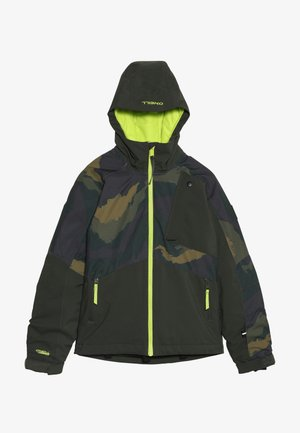 APLITE JACKET - Snowboardová bunda - forest night