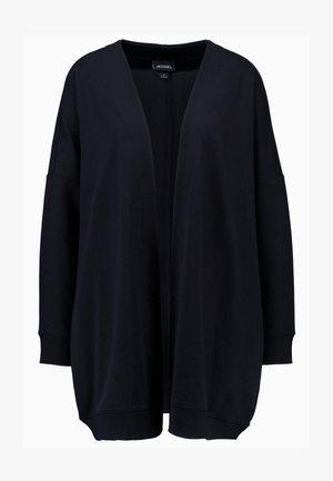 CAMILLA CARDIGAN - veste en sweat zippée - black