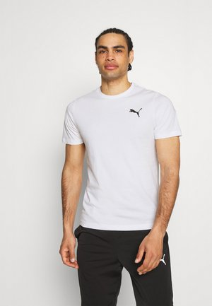ESS SMALL LOGO TEE - T-shirt - bas - white