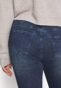 JUNAROSE - by VERO MODA - JRONEABBELINE - Slim fit jeans - dark blue denim - 5