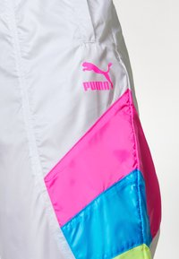 Puma - TRACK PANT - Tracksuit bottoms - white - 4
