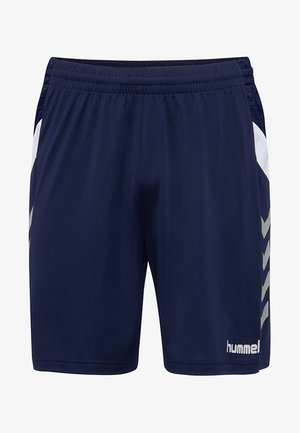 TECH MOVE - Korte sportsbukser - navy