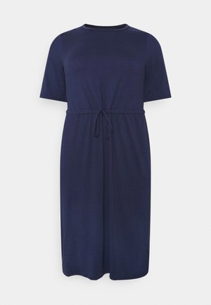 PAULA DRAWSTRING WAIST DRESS - Kjole - indigo