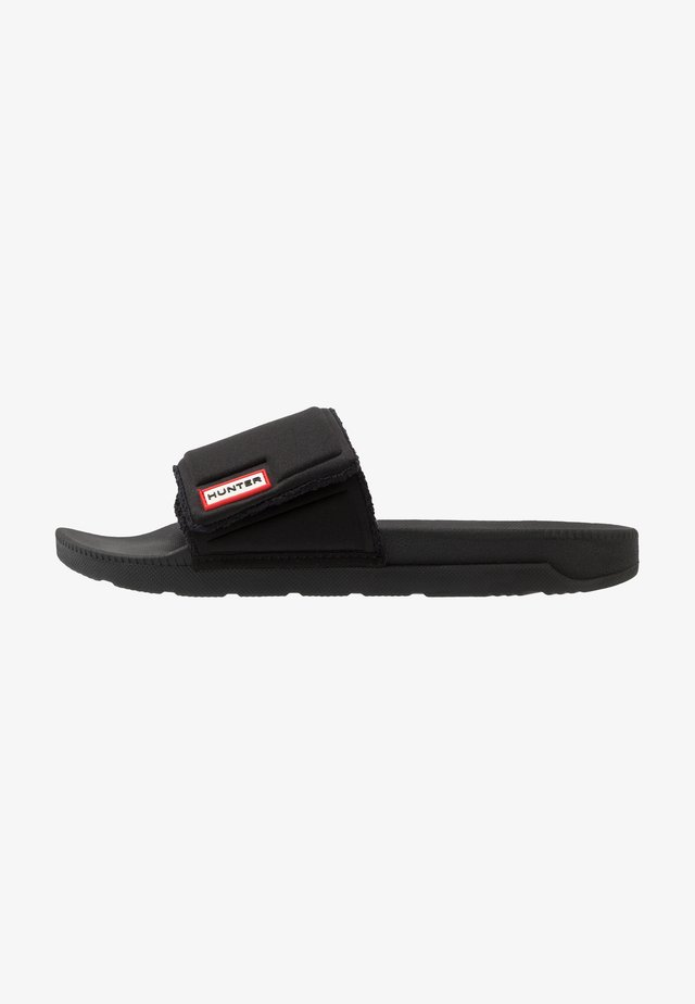 MENS ORIGINAL ADJUSTABLE SLIDE - Pantolette flach - black