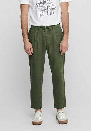 ONSLEO - Trousers - olive night