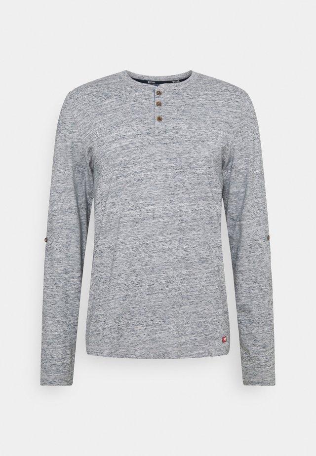 ADRIAN HENLEY - T-shirt à manches longues - dark sapphire