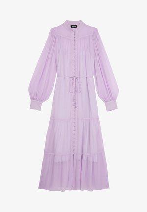 Długa sukienka - mauve