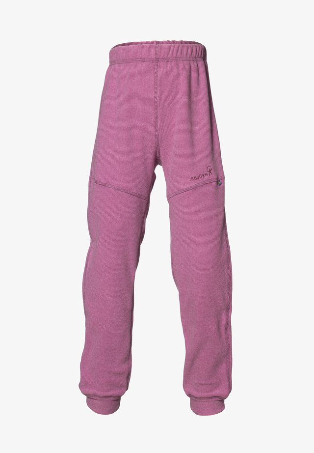 Tracksuit bottoms - dusty pink