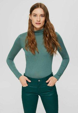 REGULAR FIT - Long sleeved top - teal blue