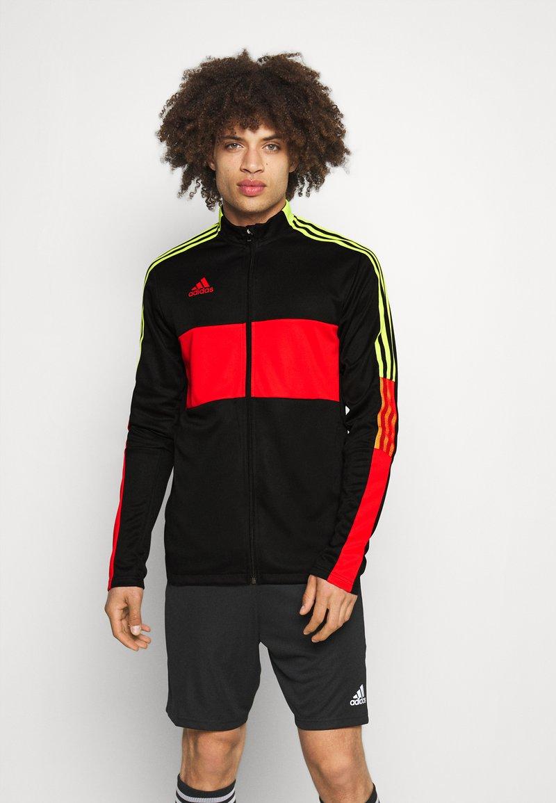 adidas Performance - TIRO - Veste de survêtement - black/red