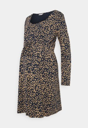 MLIRENA NELL DRESS - Jersey dress - dress blues/rose cloud/ cream go