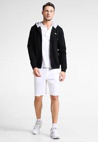 Lacoste Sport - HERREN SWEATJACKE-SH7609 - Huvtröja med dragkedja - noir/argent chine - 1