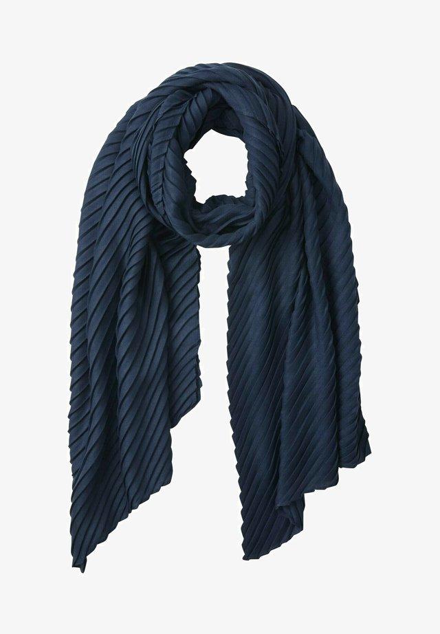 Schal - dark denim blue