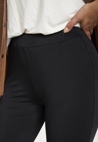 Kaffe - Leggings - Trousers - black deep - 3