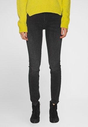 HIGHRISE HALLE TRUEFLEX  - Jeans Skinny Fit - black