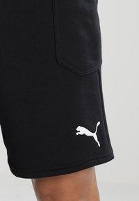 Puma - LIGA CASUALS - Korte broeken - black/white - 3