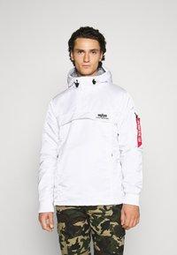 Alpha Industries - ANORAK - Light jacket - white - 0