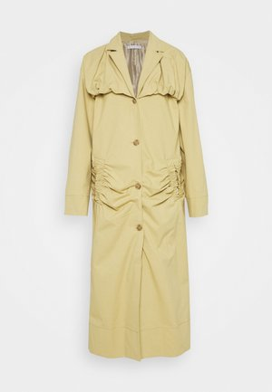 DYLAN TRENCH - Trenssi - cotton olive green