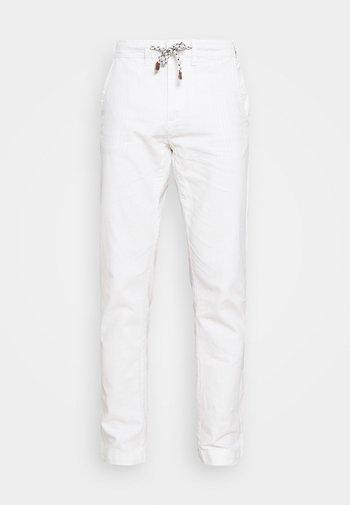 GALLEGOS - Kalhoty - white